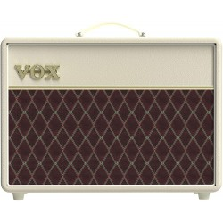 Vox ampli guitare lampes AC Custom edition limité cream Bronco