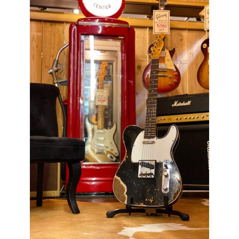 Fender Telecaster 64 Heavy Relic ABL Aged Black