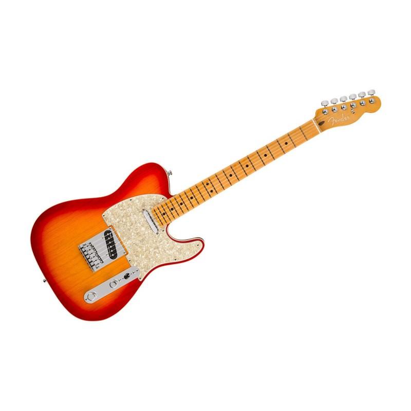 Fender American ULTRA Telecaster MN Plasma Red Burst