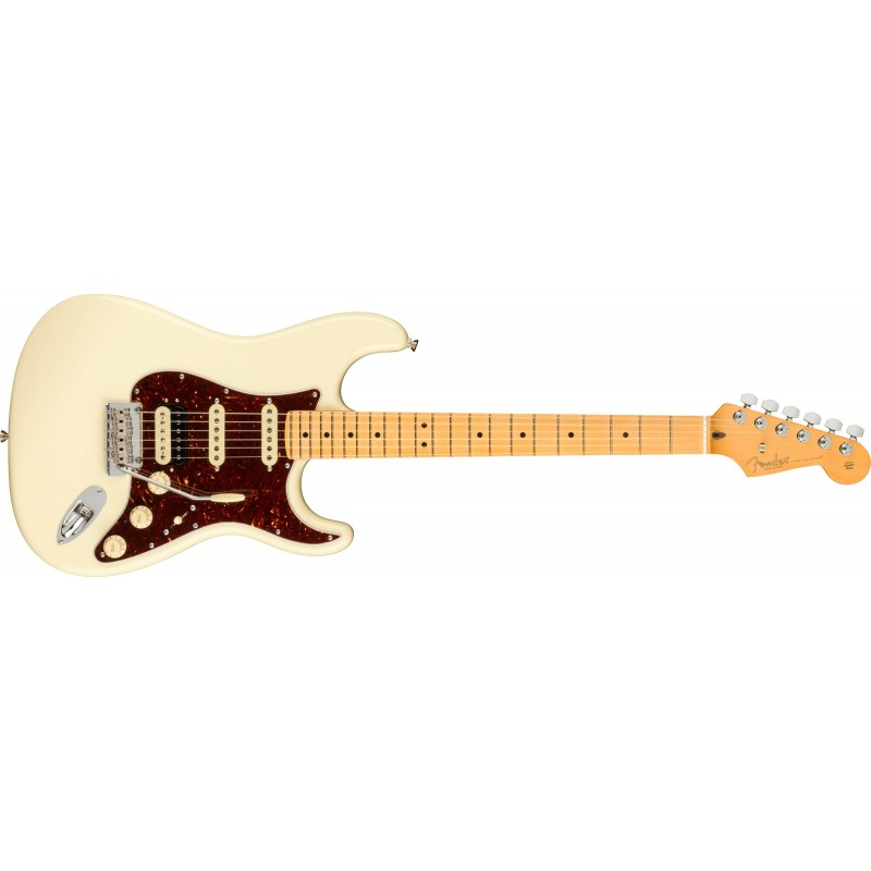 Fender American PRO II Stratocaster HSS MN OWT Maple Neck Olympic White