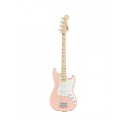 Squier FSR Affinity Bronco Bass SHP MN Shell Pink Maple Neck erable