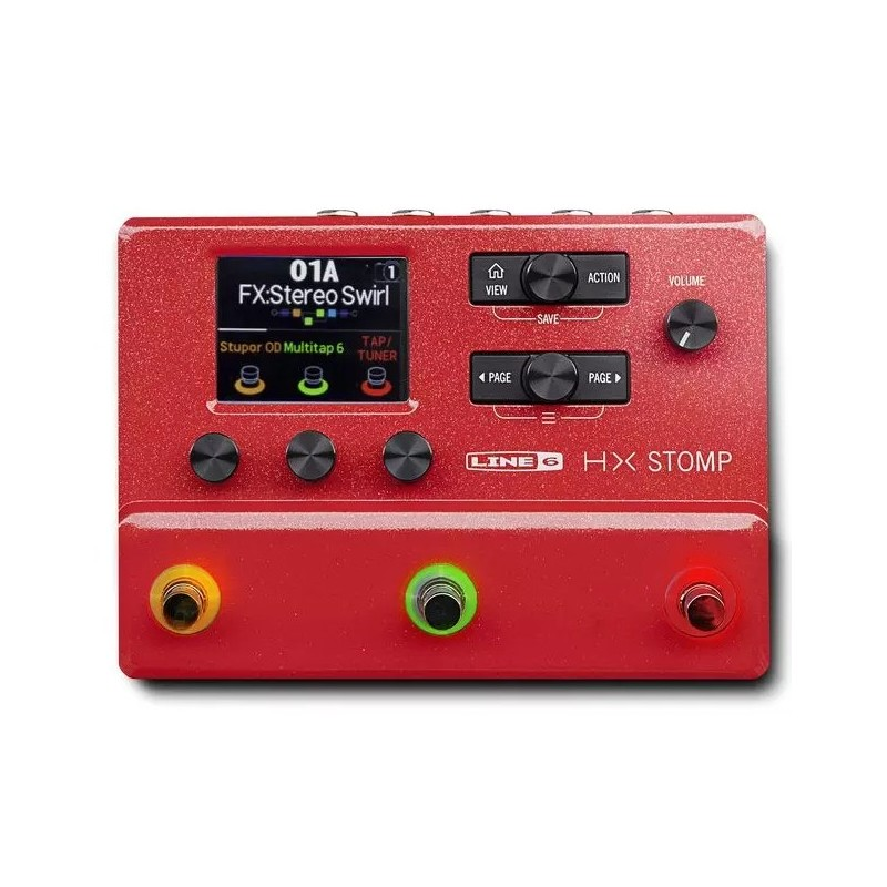 Line 6 HX stomp red limited