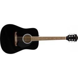 Fender FA125 dreadnought black WN
