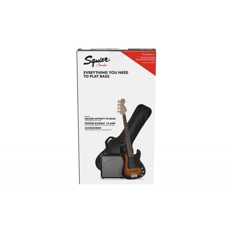 Fender Pack PJ bass BSB GB R15