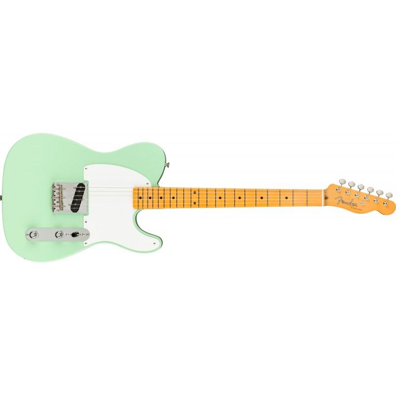 Fender 70th anniversary ESQUIRE Touche érable Surf Green