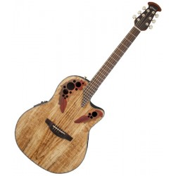 Ovation CE44p sm spalted maple celebrity elite plus