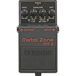 boss MT2 metalzone metal zone