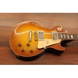 Gibson Les Paul Standard '59 Figured Sunrise Tea Burst Heavy Aged NH M2M