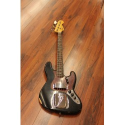 Fender Custom shop jazz bass 64 relic rw black
