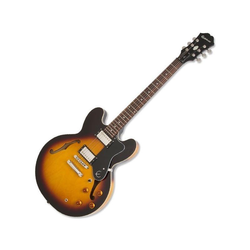 Epiphone dot deluxe flame maple top