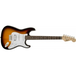 Squier Bullet HSS bsb brown sunburst