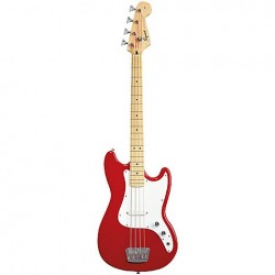 Squier Bronco Bass MN TRD EXP  Torino Red