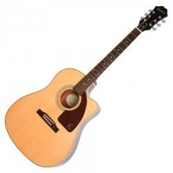 Epiphone ltd edition AJ 210CE outfit naturel