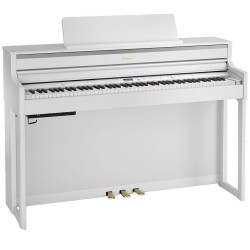 Roland HP704WH Blanc + stand KSH704/2WH