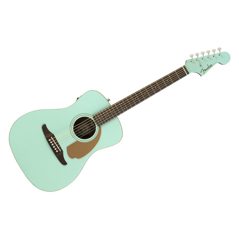 Fender Malibu Player Aqua Splash WN