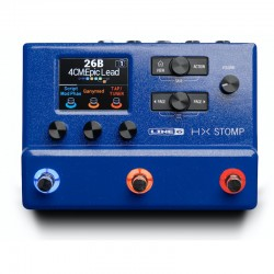 Line 6 HX stomp blue limited