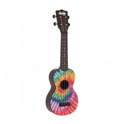 Kala ukulele soprano KA SU TIEDYE ABS Tie Dye