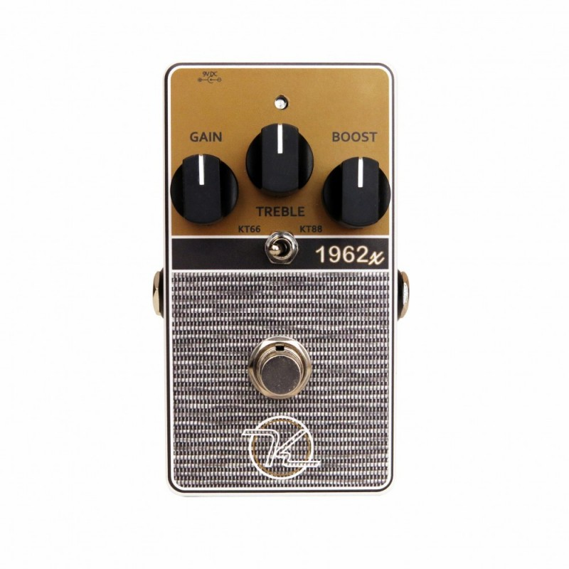 Keeley 1962x 2 mode british overdrive