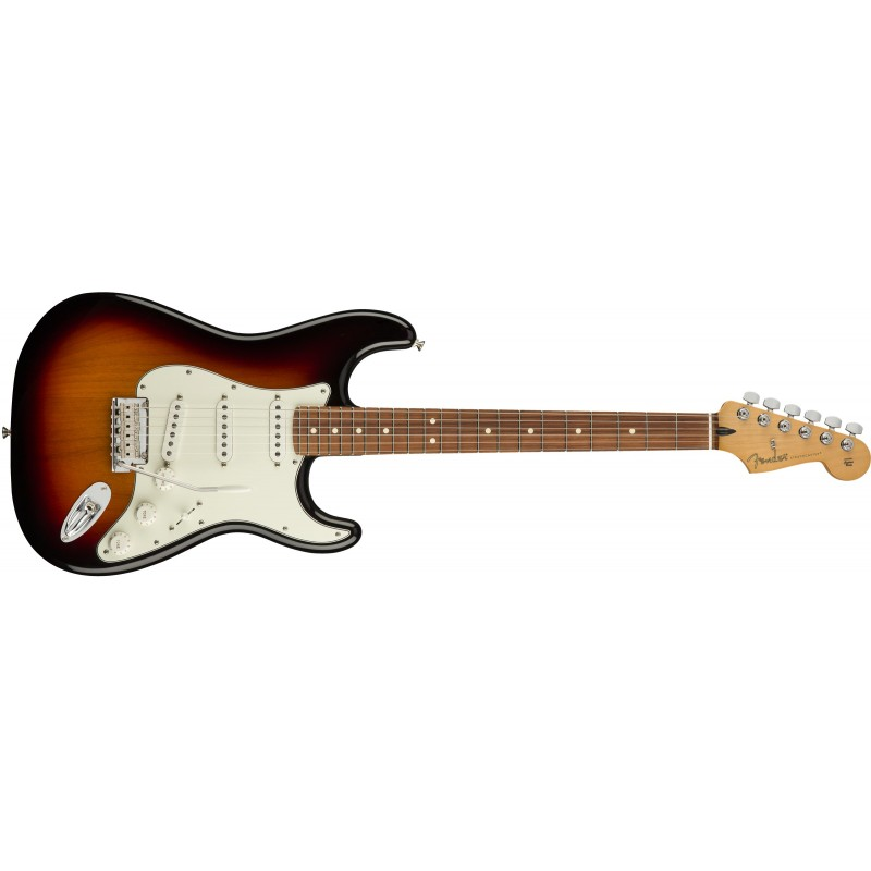 Fender player stratocaster PF 3ts 3 tons sunburst