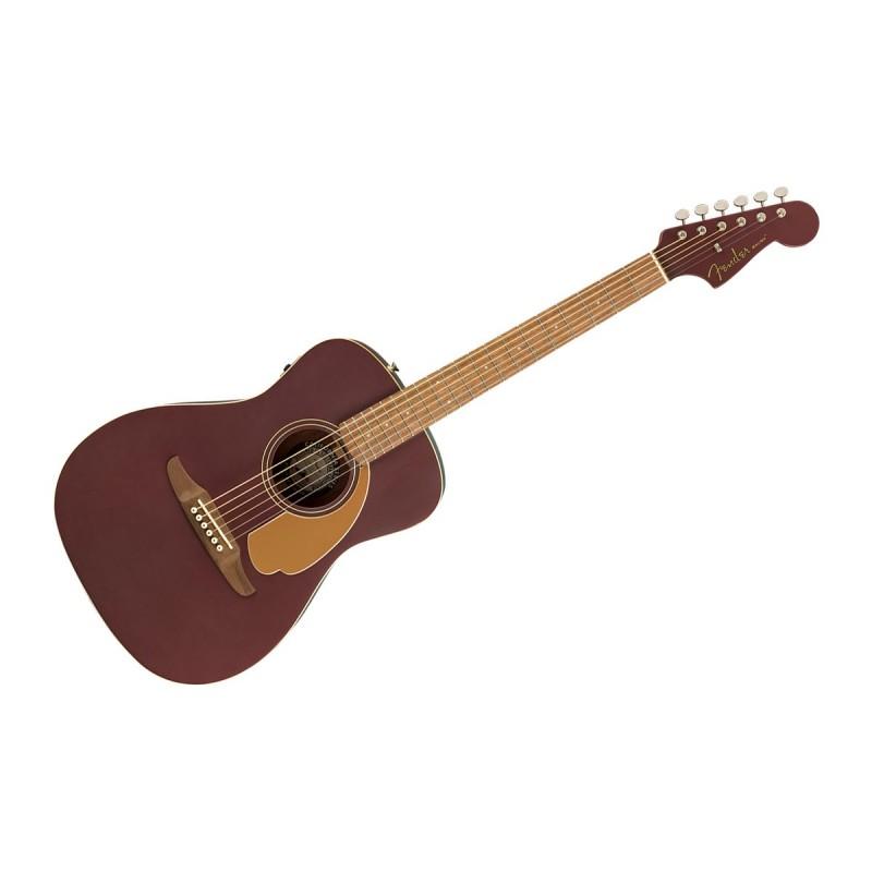 Fender Malibu Player Burgubdy Satin WN