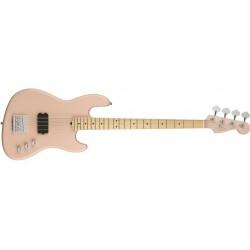 Fender Flea signature Jazz Bass active MN SHP E shell pink